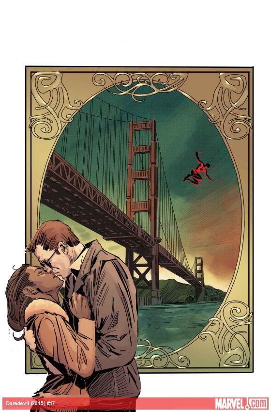 Daredevil (2015) #17 cover by Ron Garney