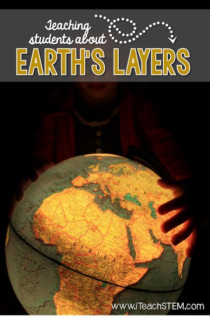 Teaching about the layers of the earth doesn't have to be boring. Here are three great teaching strategies for use in the STEM class. Using YouTube video clips, interactive notebook activities, and visual vocabulary posters will help students with this earth science topic.