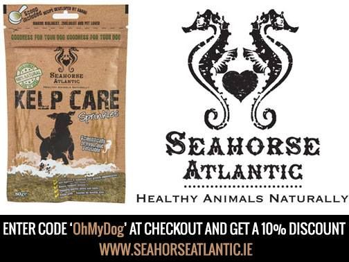 Enter code at http://www.seahorseatlantic.ie/product/kelp-care-dogs/ #competition #discount #dog #seaweed