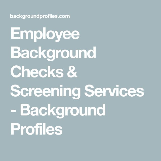 Yli 25 ainutlaatuista ideaa Pinterestissä Background check - sample background report