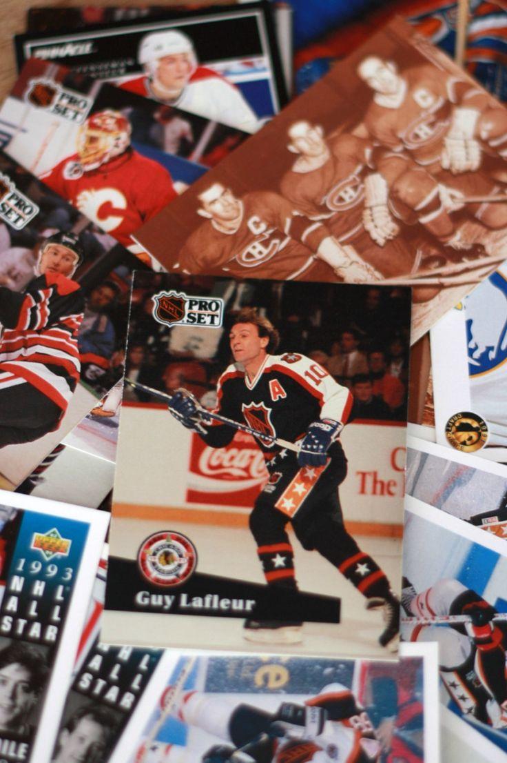 Carte d'hockey 1990 lots de 80, Carte hockey vintage, Carte sport, Cadeau de sport, Pro Set NHL, Upper Deck NHL, Guy Lafleur, Canadiens Mtl de la boutique PastelEtPixel sur Etsy