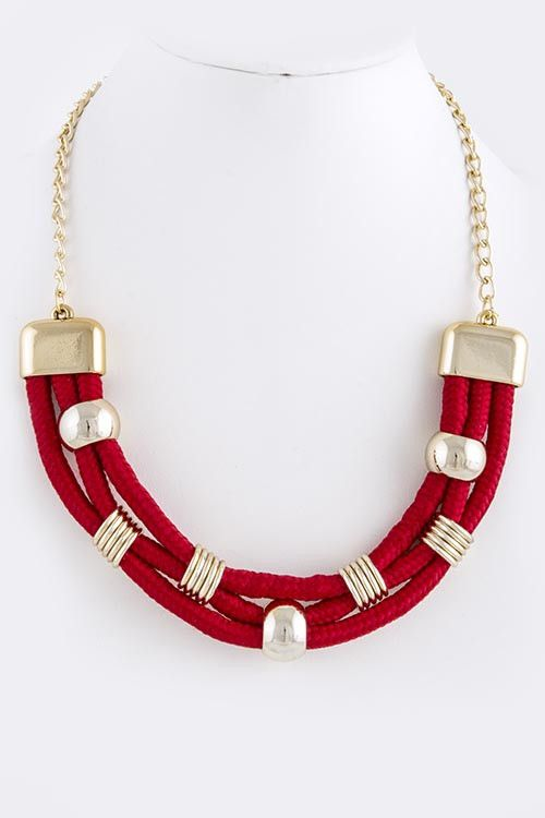 This Rope Necklace from My Jewel Candy is just $27 and comes in 7 colors! LOVE!