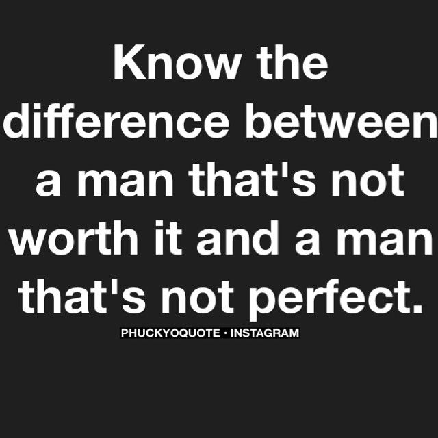 Just because a man makes a mistake, it doesn't make him a bad man. It just makes him human. If he makes the same mistake over and over, then he doesn't care, and therefore isn't worthy of your time... -MB