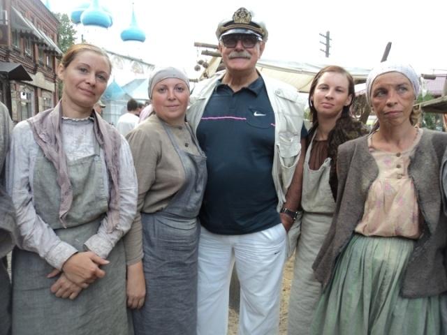 Cineast: Михалков закончил съёмки под Владимиром и едет в Одессу