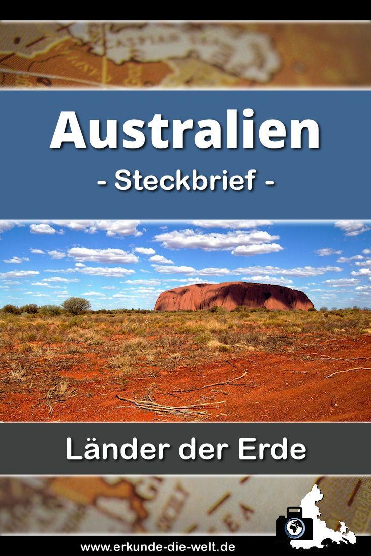 Alles Wissenswerte und Spannendes über Australien in einem übersichtlichen und kompakten Steckbrief - Tipps für Ausflüge, Hinweise zu landestypischen Gerichten, Sehenswürdigkeiten und dem besten Reisewetter Informationen inklusive!