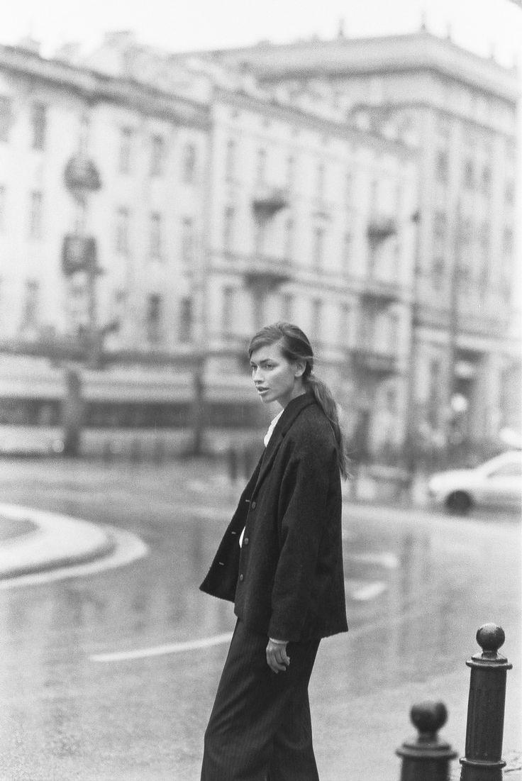Magdalena Malicka in a Naive Woolen campaign   #paulinapajka #filmisnotdead