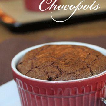 Chocopots Recipe - Chocolate, Chocolate and more & ZipList
