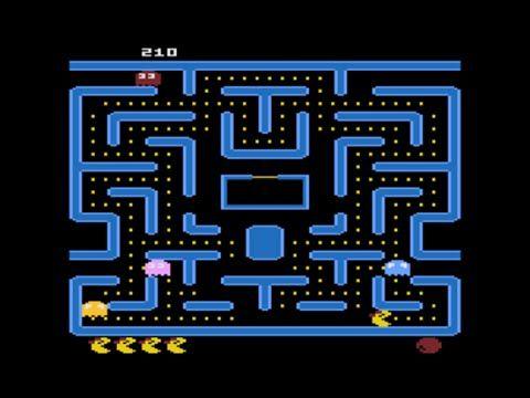 Ms.  Pacman Atari 800