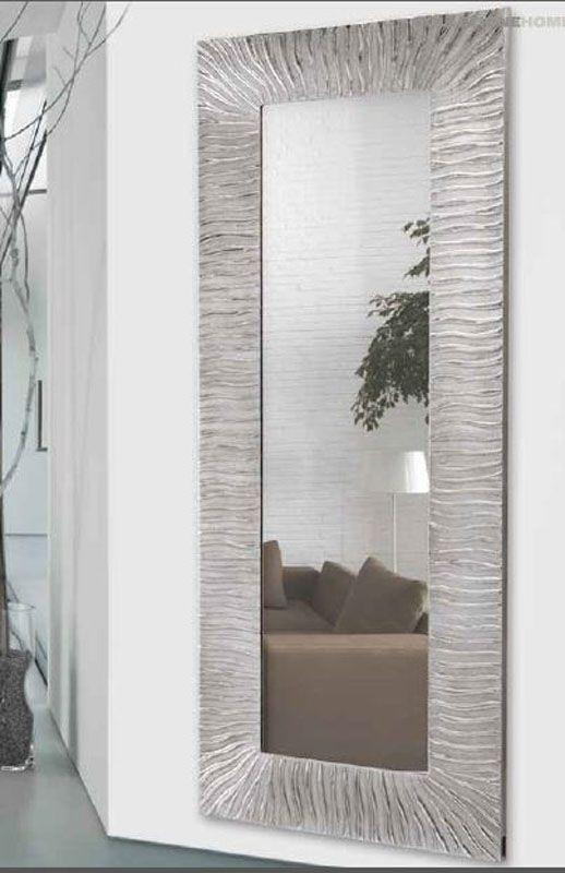 17 mejores ideas sobre espejo vestidor en pinterest - Espejos marco plateado ...