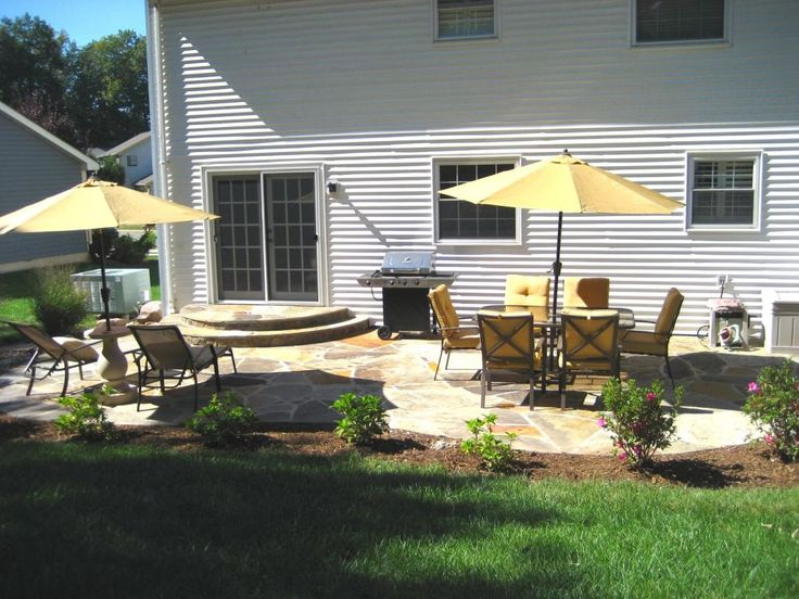 Backyard Overhaul With New Landscape, Patio And Furniture
