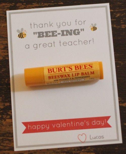 balm V-Day gift for teacher
