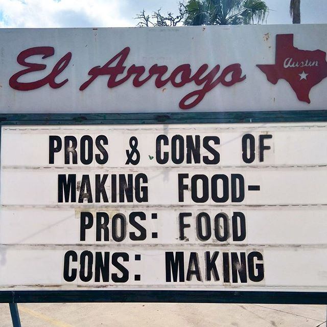 Pin On The El Arroyo Sign