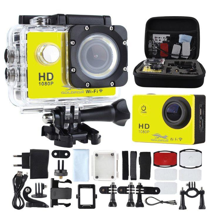 Discount! US $34.70  SJ4000 WIFI Action Camera Diving 30M Waterproof 1080P Full HD Go Underwater Helmet Sport Camera Sport DV 12MP Photo Pixel Camera  Search here: Xiaomi