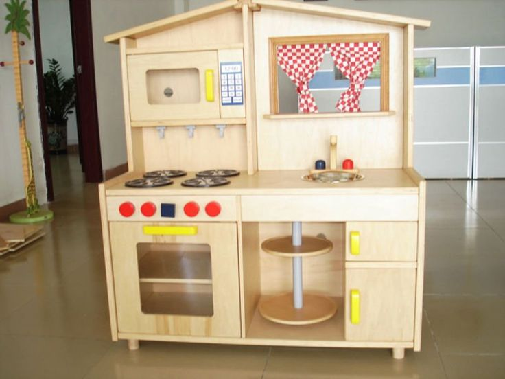 Wooden Kitchen Playsets for Childhood Education…