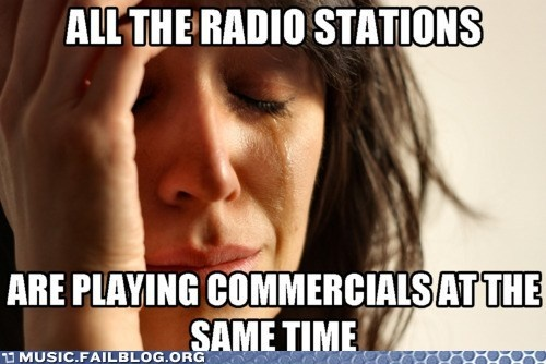 All the radio stations...