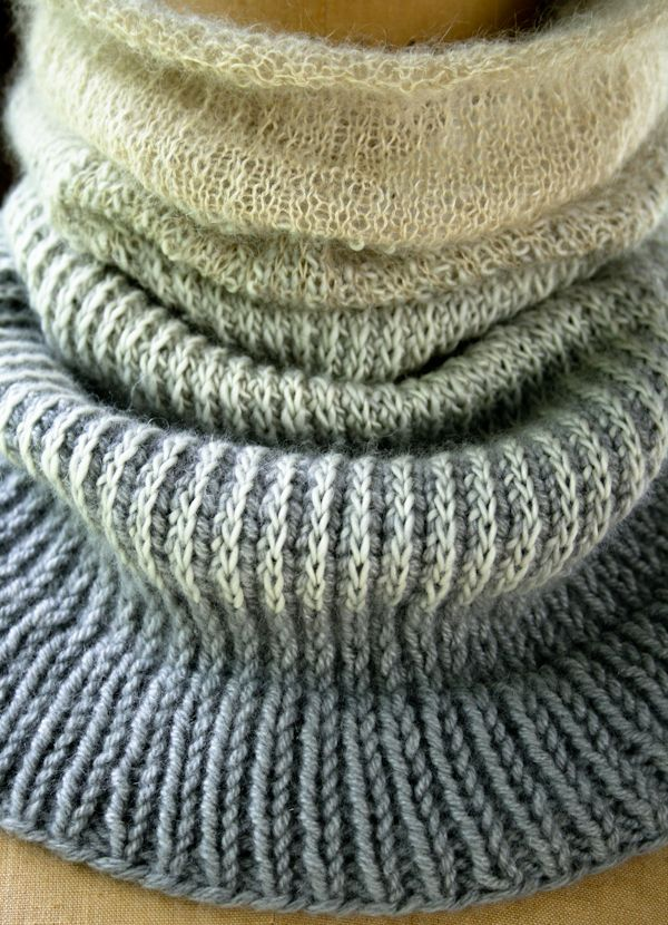 Laura's Loop: Ombre Cowl - The Purl Bee - Knitting Crochet Sewing Embroidery Crafts Patterns and Ideas!