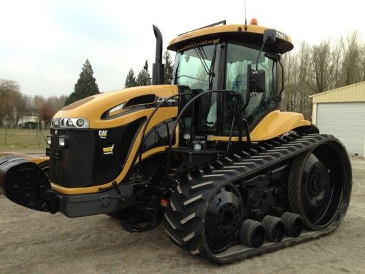 An Impressive Challenger Mt 765 C Crawler Tractor For