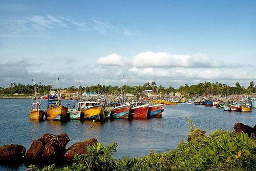 Fishery Harbour, Beruwala, Sri Lanka