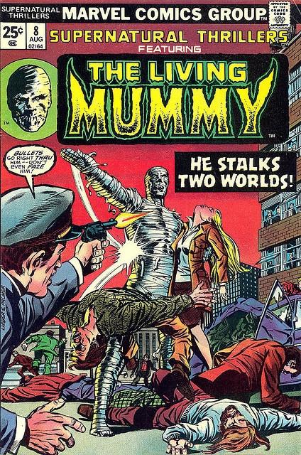 Supernatural Thrillers #8 - The Living Mummy by Jim Barker, via Flickr