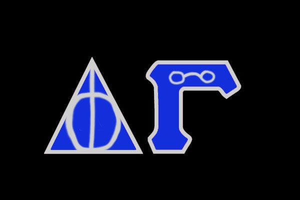 ravenclaw harry potter delta gamma letters