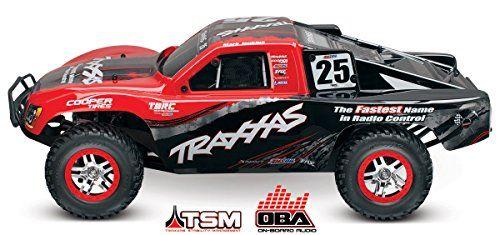 Traxxas Slash 4 x 4 BL S.C. RTR Race Truck with On Board Audio (1/10 Scale)  http://www.bestdealstoys.com/traxxas-slash-4-x-4-bl-s-c-rtr-race-truck-with-on-board-audio-110-scale/