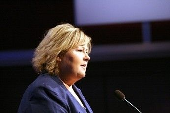 Norway PM Supports Church Same-Sex Wedding - http://www.lezbelib.com/europe-news/norway-prime-minister-erna-solberg-supports-church-same-sex-wedding #norway #ernasolberg #church #religion #equalmarriage