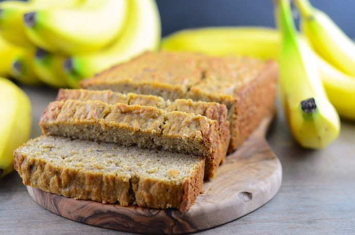Gluten Free Banana Bread | Health | Pinterest
