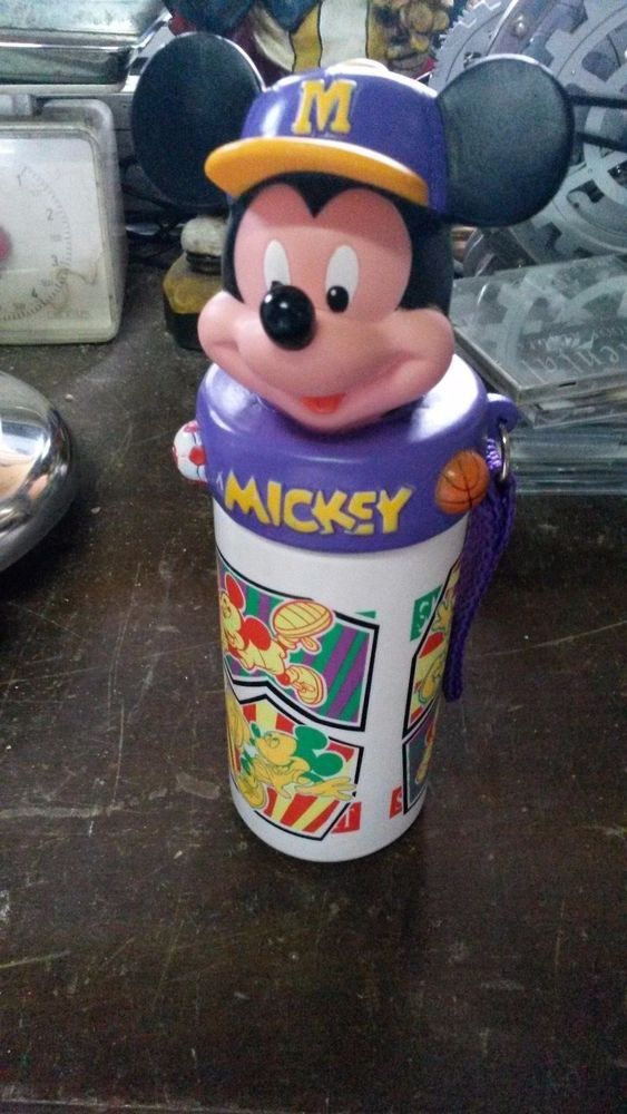 HURRY UP! Great for people who collect these Mickey Mouse things. It is in a very good condition as seen, but missing his straw. USA and everywhere else : 10 USD. Wait for my invoice! Greece : 6 USD, to. | eBay!