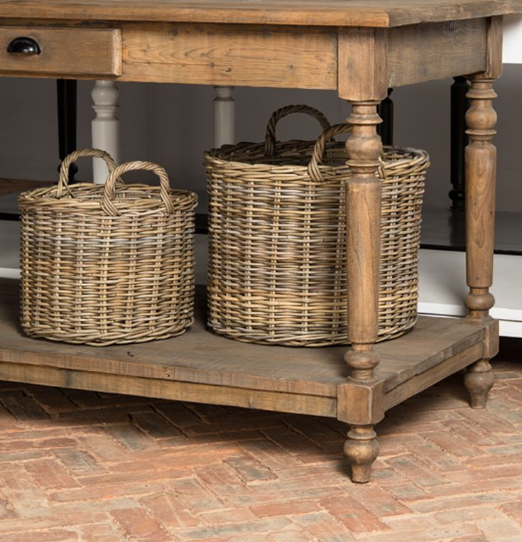 Complete the look this season with our skillfully crafted French Country Servers and Wicker baskets. www.shf.co.za