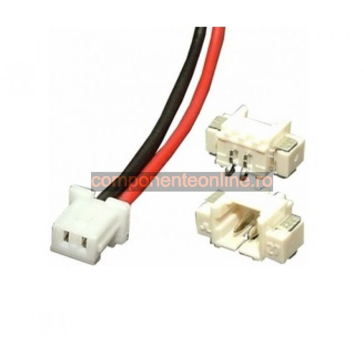 Cablu de semnal, 2 pini, 10cm - 129127