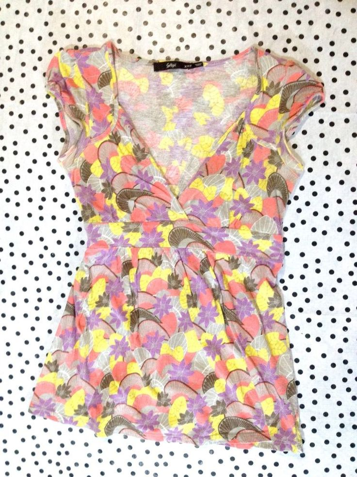 SPORTSGIRL Pastel Floral Top, Flattering Fit