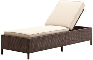Strathwood Griffen All-Weather Wicker Chaise Lounge, Dark Brown | Strathwood Griffen | Strathwood Outdoor Furniture