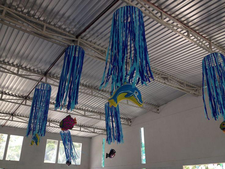 Ceiling Decoration #sea bottom