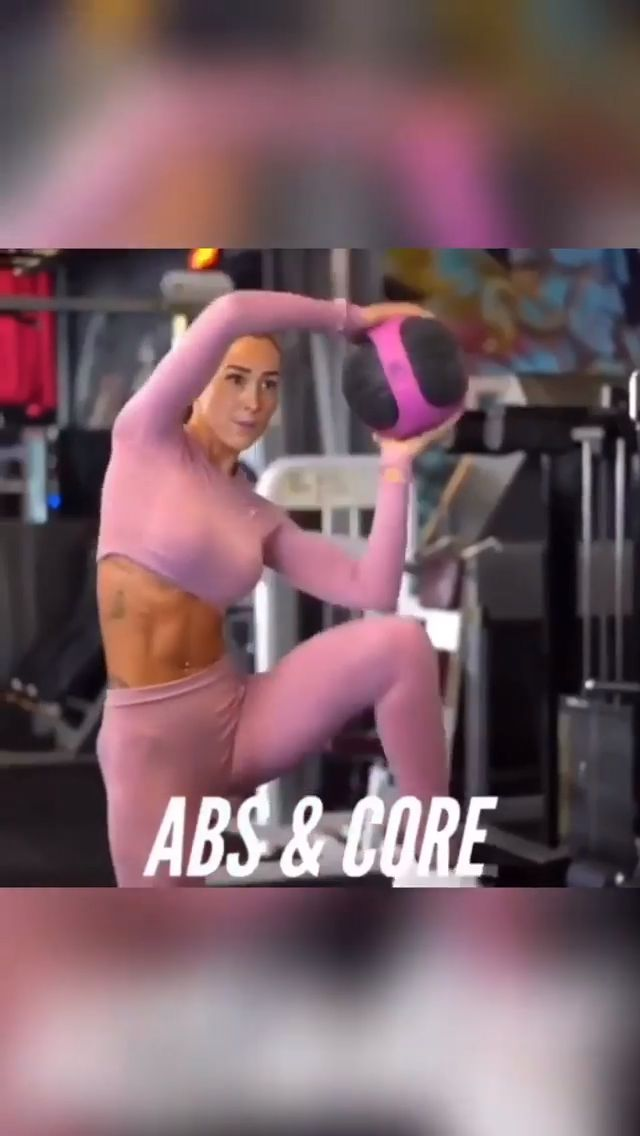 Abs & Core💪🏻  Free sign up for Exclusive fitness & weight loss programs☟