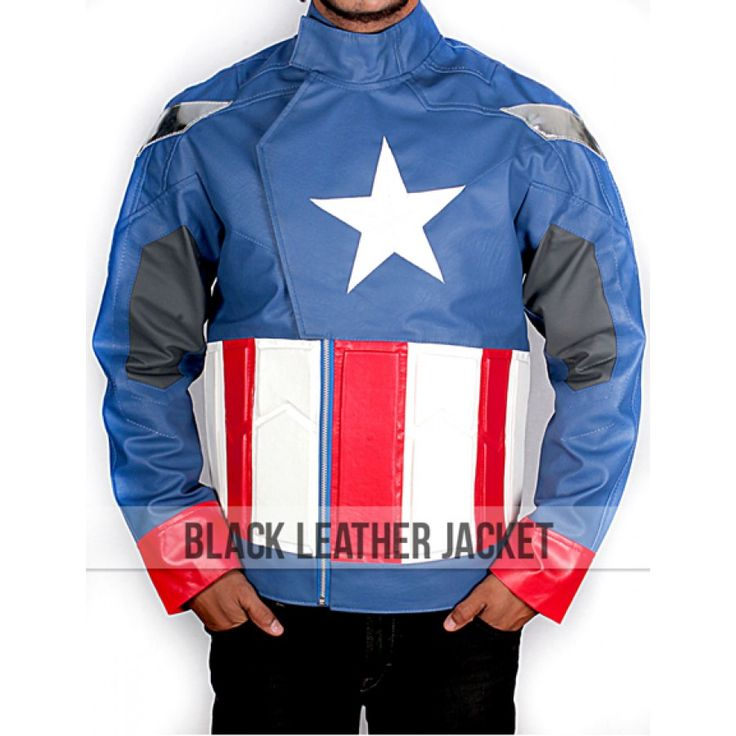 The Avengers 2012 Leather Captain America Jacket