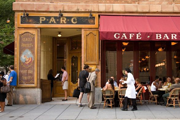 Parc Restaurant - Rittenhouse Square - Philly.   Our date night location tonight. :)