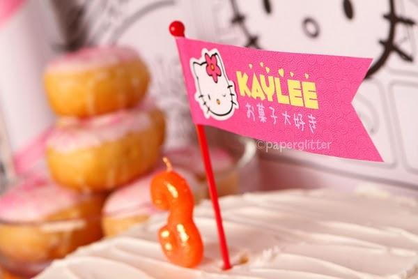 Kara's Party Ideas | Kids Birthday Party Themes: Hello Kitty Sweet Shoppe Birthday Party