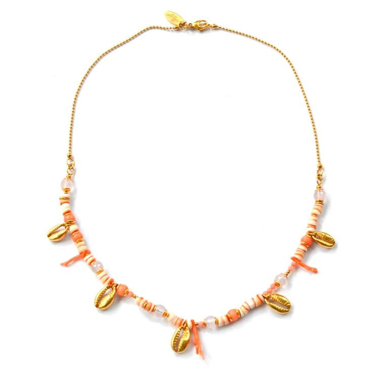 Chaingang, Moro Coral  #Halskette #necklece