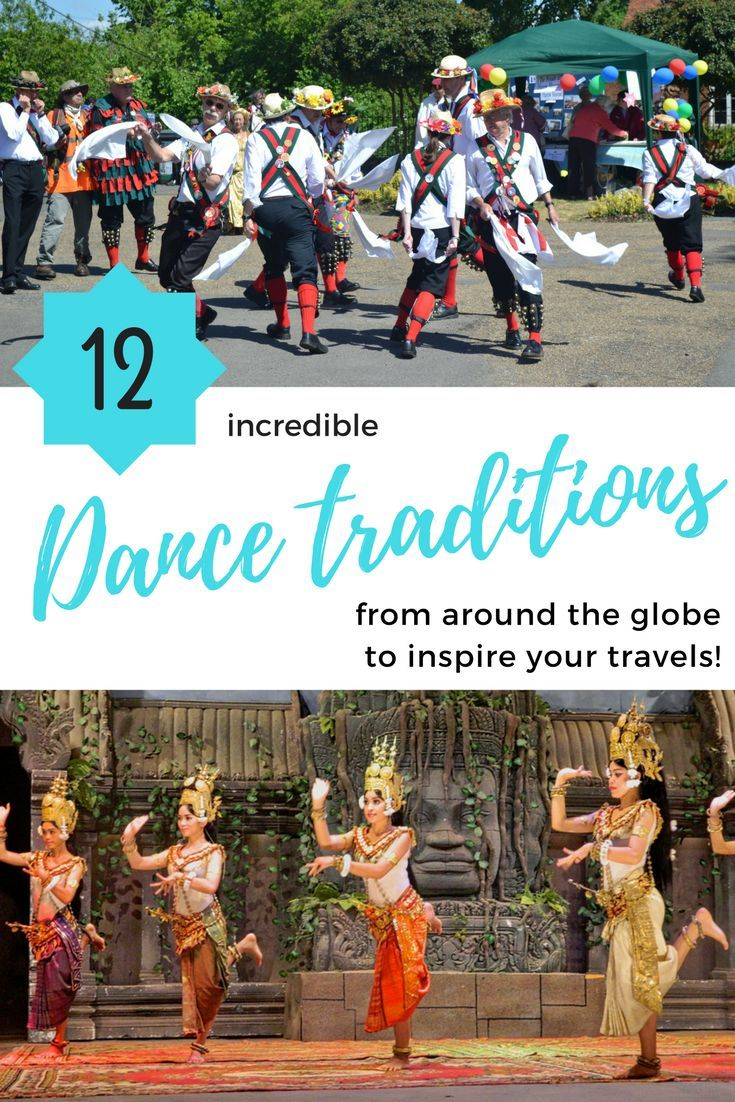 Check out these 12 incredible #dance traditions from around the globe! Dance | Dance travel | International dance | Traditional dance #folkdance #traditionaldance #internationaldance
