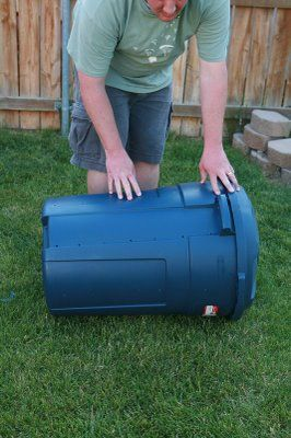 Backyard Farming: Waste Not Want Not Making a compost container for less than $20