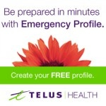 TELUS Emergency Profile is a valuable health tool, try it today