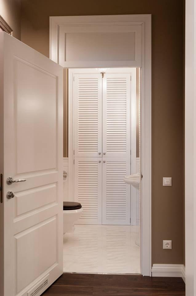 жалюзийные дверцы, реечные дверцы, белые двери