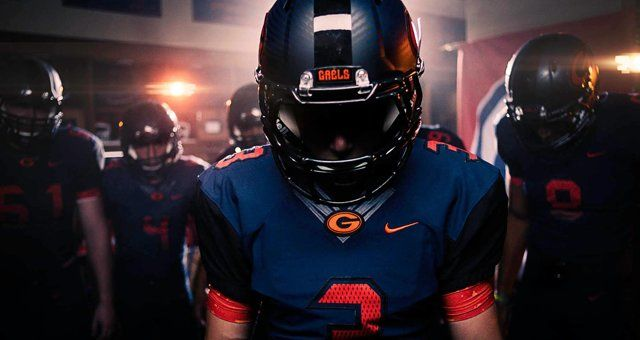 The 2014 Bishop Gorman HS Gaels Football Intro Video - A modified version plays on the stadium screen before the gales enter the stadium.