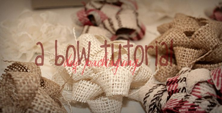 Bow TutorialCrafts Ideas, Gift Bows, Bows Tutorials, Burlap Lace, Crafty Things, Crafty Creations, Fabrics Bows, Burlap Bows, Diy Projects