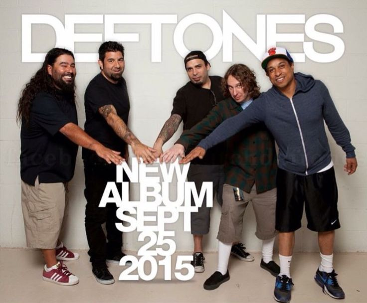 Deftones new album. I'm crying from the anticipation.