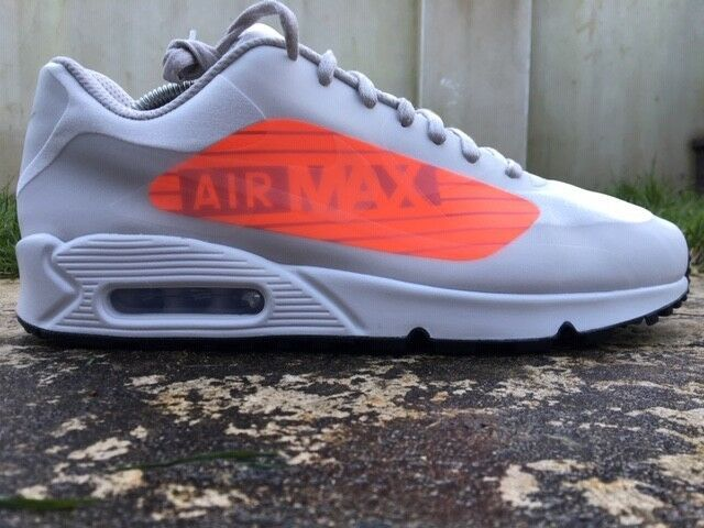 uomo nike air max trainers size 10