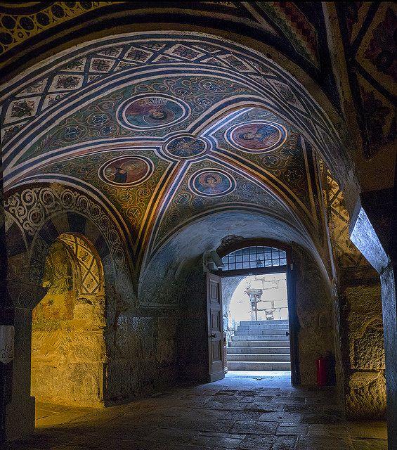Byzantine Monastery   near Arachova, Greece