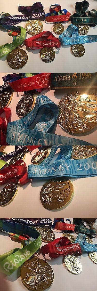Olympics 27291: Olympics Souvenir Gold Medal Summer Set Rio London Beijing Athens Sydney Atlanta -> BUY IT NOW ONLY: $199.99 on eBay!