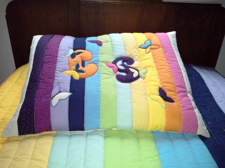 Almohadón patchwork