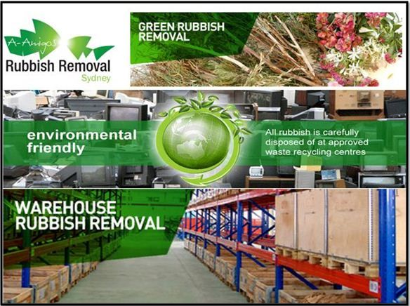 Keep your environment clean and tidy by hiring junk removal service providers in Sydney. A-Amigos Rubbish Removal Sydney ensure recycling and effective disposal of waste. Contact us now to arrange a waste removal process! Request us for an online quote!